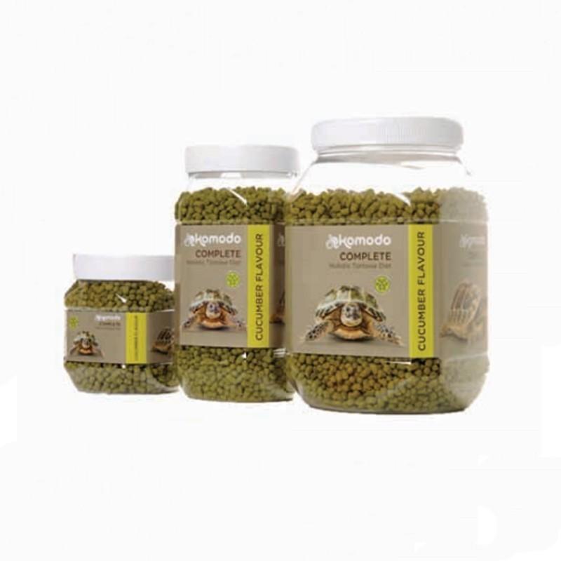 Granulés pour tortue de terre saveur concombre Komodo - 170g