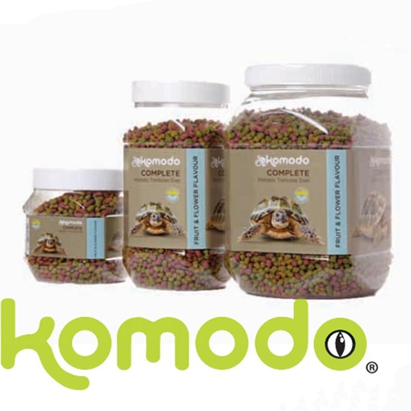 Granulés pour tortue de terre saveur fruits & fleurs Komodo - 340g