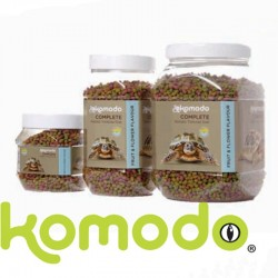 Granulés pour tortue de terre saveur fruits & fleurs Komodo - 170g