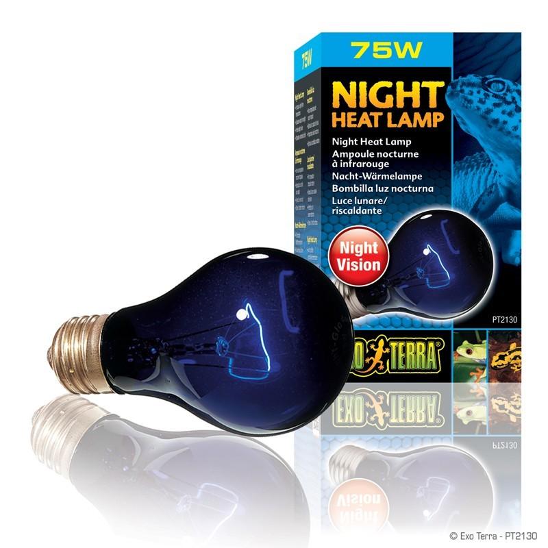 "Ampoule nocturne Exo Terra ""Night Glo"" - 75W"