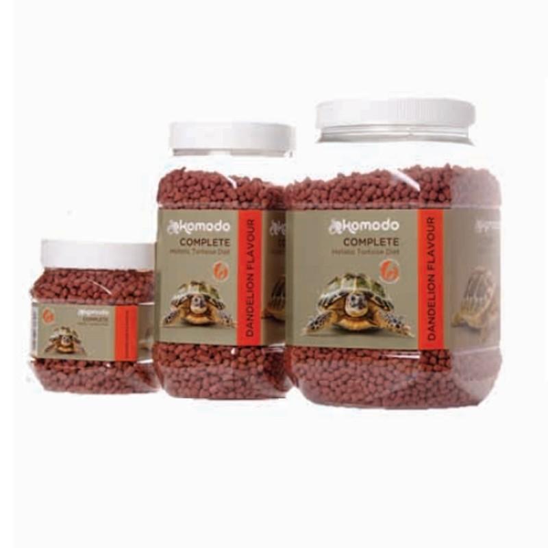 Granulés pour tortue de terre saveur pissenlit Komodo - 170g