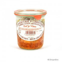 Pot'je Vlees - Conserverie St Christophe - 450g