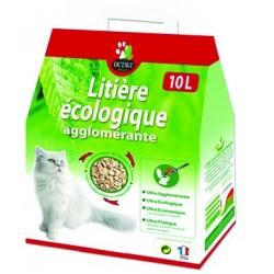 Litière végétale agglomérante Octave - 10L