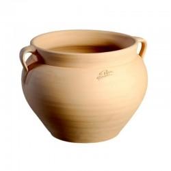 Pot boule Goicoechea 2 anses terre cuite - ø29x27cm