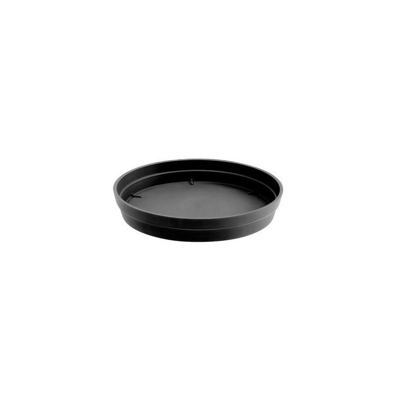 Soucoupe Toscane ø22,5cm - Gris anthracite