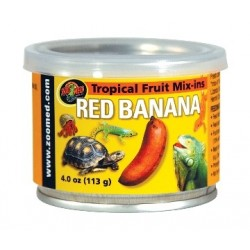 Compotée de fruits banane rouge Zoo Med - 113g