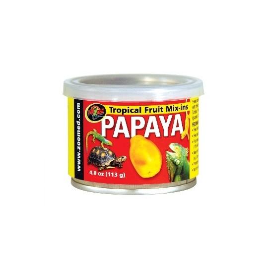 Compotée de papaye Zoo Med - 113g - Desjardins.fr