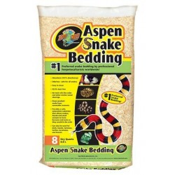 "Substrat pour serpent ""Aspen Snake Bedding"" Zoo Med - 8,8L"