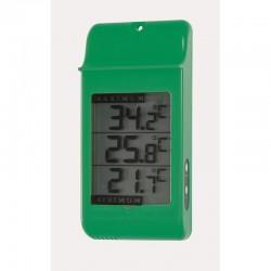 Thermomètre AJS Mini Maxi Vert - 16cm