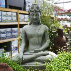 Statue de bouddha assis -...