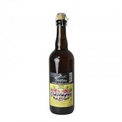 """Bière ambrée """"Castagne"""" - 75cl"""