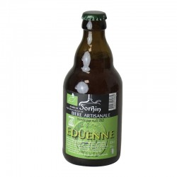 """Bière blonde bio """"Eduenne""""..."""