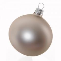 Boule de Noël uni mat...