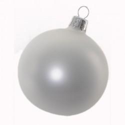 Boule de Noël uni nacré...