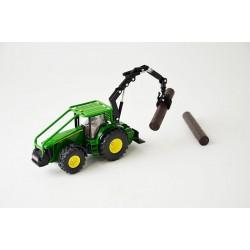 Tracteur forestier John...