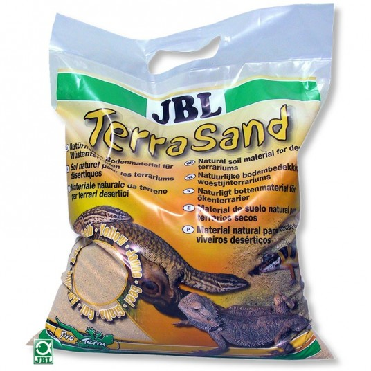 Sable TerraSand jaune naturel JBL - 7,5kg