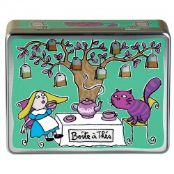 Boîte à thés compartimentée...
