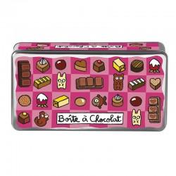 """Boîte à chocolats """"Délices""""..."""