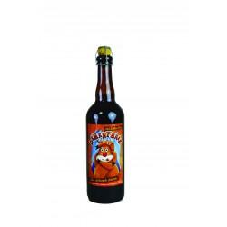"""Bière ambrée """"Dément'brée""""..."""