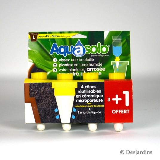 Aquasolo - Pot de 45 à 60 cm - 3+1 gratuit