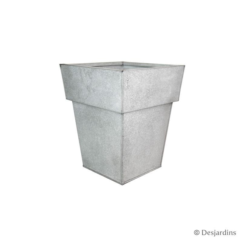 cache pot carr haut 25x25x30 cm desjardins. Black Bedroom Furniture Sets. Home Design Ideas