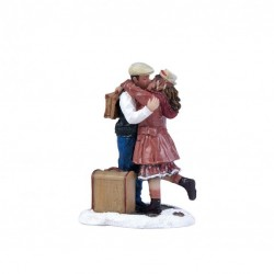 "Figurine ""Kissing Goodbye""..."