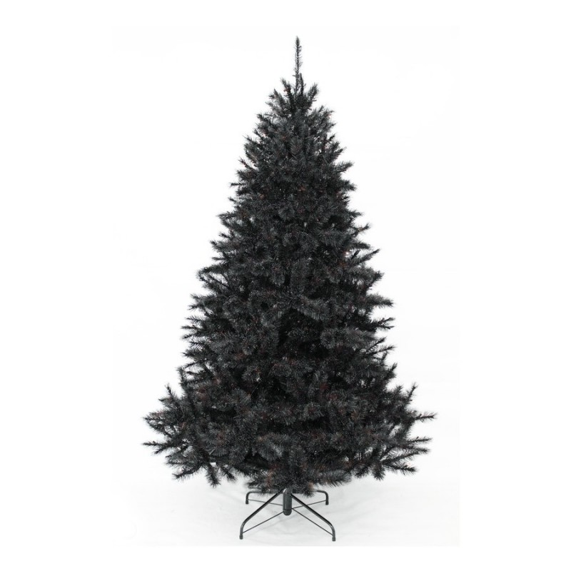 sapin artificiel bristlecone noir 215 cm triumph tree. Black Bedroom Furniture Sets. Home Design Ideas