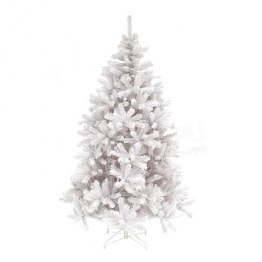 "Sapin artificiel blanc ""White Siris Iridescent"" - 215 cm - TRIUMPH TREE"