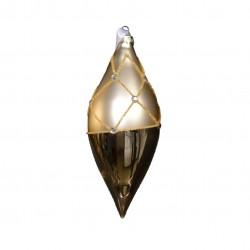 Boule en verre à diamants -...