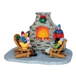 "Scène ""Outdoor Fireplace"" -..."