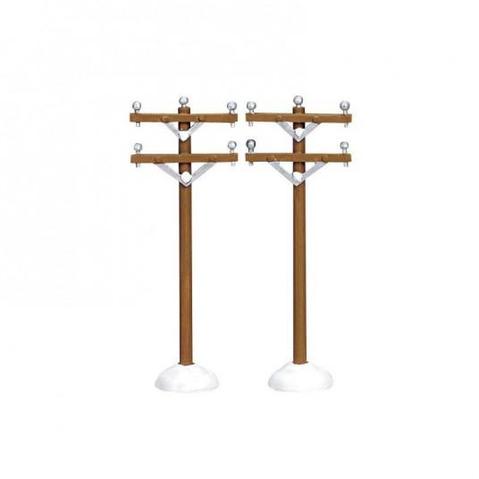 """""""Telephone Poles"""" X2 - LEMAX"""