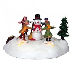 Bonhomme de neige et ses 4...