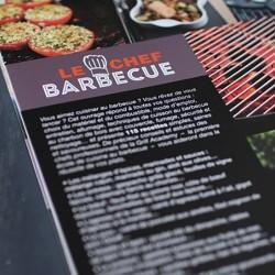 livre de recettes chef barbecue weber. Black Bedroom Furniture Sets. Home Design Ideas