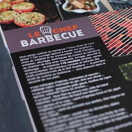 "Livre de recettes ""Chef barbecue"" - WEBER"