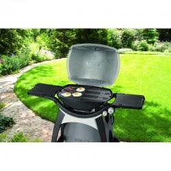 Plancha en fonte pour barbecue Weber Q300