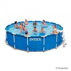 Kit piscine en métal frame...