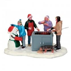 """Scène """"Snowy BBQ"""" - LEMAX"""