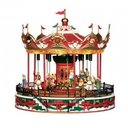 Manège Santa Carousel de la marque Lemax
