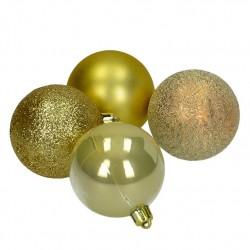 Lot de boules de Noël -...