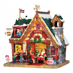 """Maison """"Santa's Cabin"""" - LEMAX"""