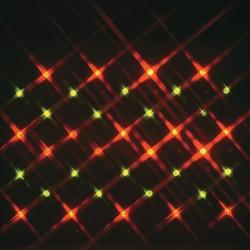 Guirlande LED rouge/vert -...