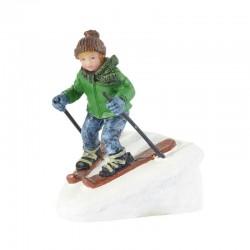 "Figurine ""Rudolph Skiing"" -..."