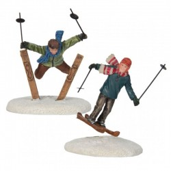 "Figurines ""Ski Jumpers"" -..."