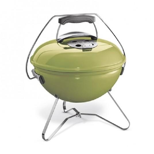 "Barbecue charbon ""Smokey Joe Premium"" vert pomme - WEBER"