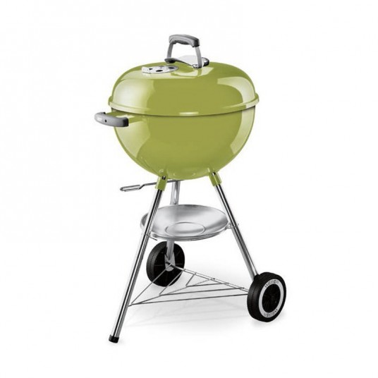 barbecue charbon original kettle 47 cm vert pomme. Black Bedroom Furniture Sets. Home Design Ideas