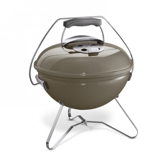 "Barbecue charbon ""Smokey Joe Premium"" 37 cm gris fumé - WEBER"