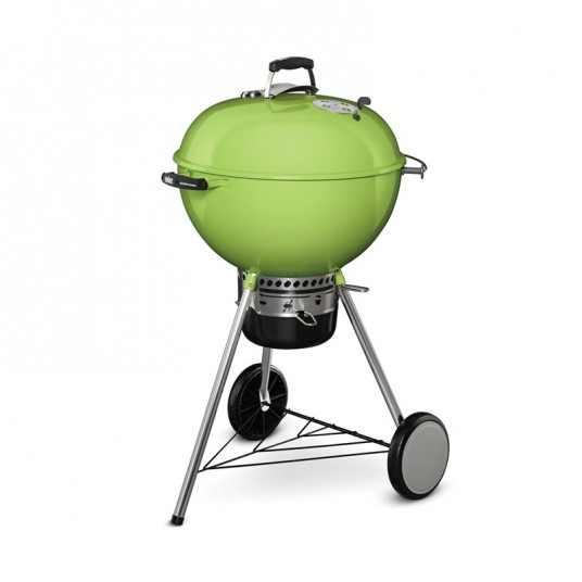 "Barbecue charbon ""Master-Touch GBS"" 57 cm vert pomme - WEBER"