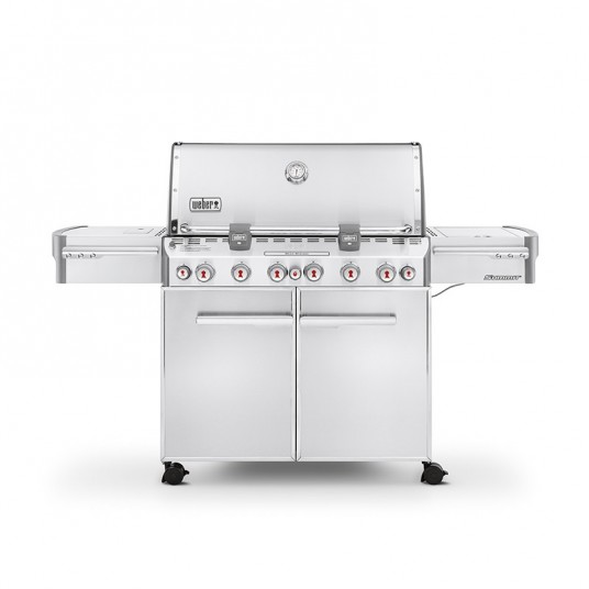 "Barbecue gaz ""Summit S-670 GBS"" inox - WEBER"