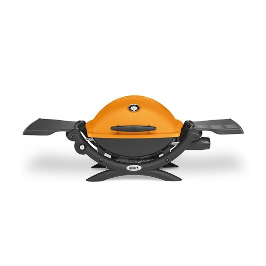 "Barbecue gaz ""Q1200"" orange - WEBER"