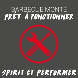 Montage des barbecues...